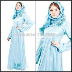 c8ecc59e147 Купить товар Discount 2014 дубай Vestidos Nisrine высокая шея с длинными  рукавами из бисера арабский длинное платье для кафтан вышивка женская  Abayas для ...