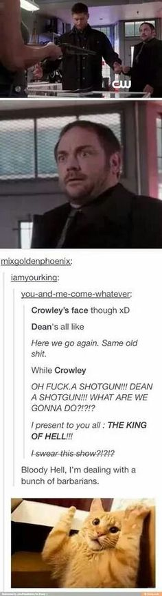 Crowley your British is showing...