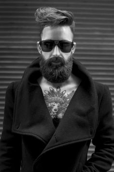 Bearded and Tattooed // Image Tana Photography LLC www.tanaphotography.com Men's grooming by Deco Hair and Makeup Salon Model Jeremy Thompson