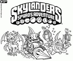 1000 images about fonts on pinterest | skylanders swap force, skylanders and coloring book pages