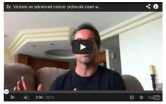 Dr. Vickers on advanced cancer protocols used with Gerson therapy.