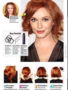 How to fake a bob gonna need this for Hairspray!
