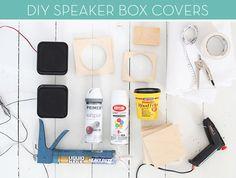 Make It: Stylish DIY Speaker Box Covers » Curbly   DIY Design Community