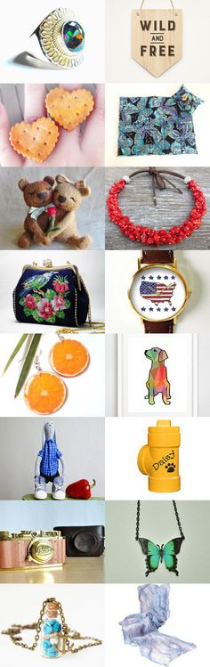OCTOBER SURPRISES ! by Clari on Etsy--Pinned with TreasuryPin.com