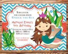 little girl mermaid party - Google Search