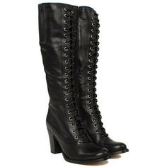 must have these Frye Julia Lace Up Boots 77184-Blk  $560 (548 CAD) - gravitypope.com