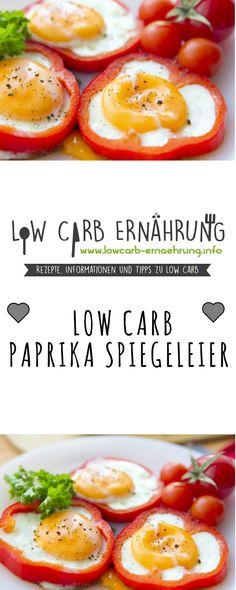 low carb rezept fur leckere kohlenhydratarme paprika spiegeleier low carb und einfach und