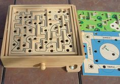 marble maze, great vintage toy -- we got this for our son in the 1980s.