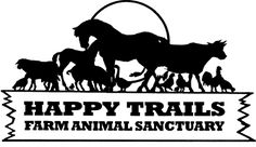 Happy Trails Farm Animal Sanctuary is located in Ravenna, OH. They rescue, rehabilitate, and provide an adoption program for abused, abandoned, and neglected farm animals.