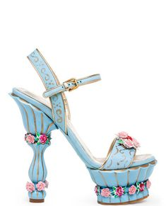 Dolce & Gabbana, fall 2012, shabby chic shoes how cute!!!