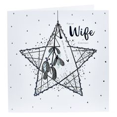 Platinum Collection Christmas Card - Wife With All My Love | Card Factory