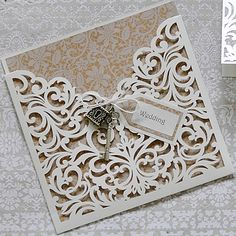 Instructions To Make Your Own Laser Cut Invitations Stationery