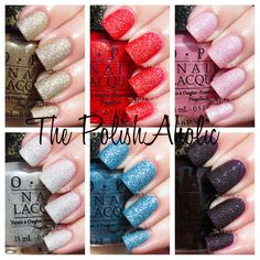 OPI Bond Girls Collection Swatches