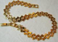 Double Serpentine Gold Bracelet
