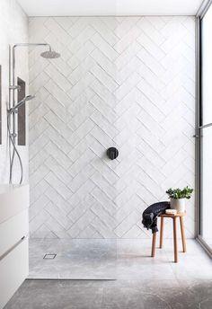 48 Easy Shower Design Ideas For Small Bathroom Bathroom Renos, Bathroom Renovations, Master Bathroom, Bathroom Ideas, Bathroom Black, Bathroom Modern, Bathroom Organization, Bathroom Feature Wall, Bathrooms Decor