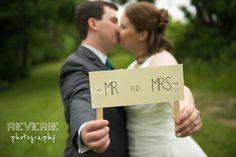 Creative Wedding Photo - Mr & Mrs