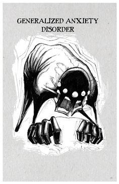 Inktober Illnesses Series I Prints – Any Means Necessary Clothing Creepy Drawings, Dark Art Drawings, Drawing Sketches, Horror Drawing, Horror Art, Dark Art Illustrations, Illustration Art, Inktober, Mental Health Art
