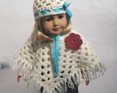 Easter Dresses Knitting Patterns for 18 inch von FrugalKnittingHaus