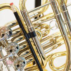 K&M Pencil Holder for French Horn - Siegfried's Call French Horn, Pencil Holder, Horns, Metal, Gifts, Accessories, Gift Ideas, Amp, Christmas