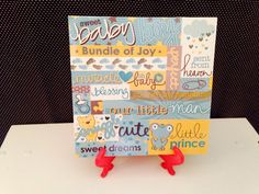 Little Prince BLUE/YELLOW Baby Boy Nursery Decor  by crazydaisy12