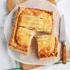 Stilton, Sausage, Leek and Onion Pie: Recipes