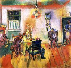 Marc Chagall, 1910, The Sabbath