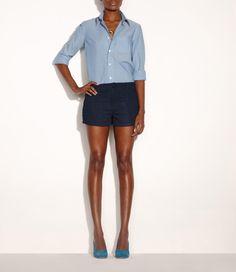 Lightweight shirt - BLUE GREY - A.P.C. WOMEN.