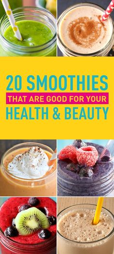 Who doesn't love smoothies? They are just the right combination of sweet and refreshing to work both as a dessert treat and a rejuvenating drink on a hot day. Not to mention the flavor combinations seem to be endless. Between all the possible ingredients, all you need is some imagination and you can mix the perfect drink even if you are no expert. But did you know smoothies can be good for both your health and beauty as well? That's right; the best If you're someone who skips breakfast and…
