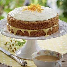 Zucchini-Möhren-Orangen-Kuchen Rezept