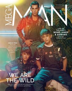 MEGAExclusiveWithFandH (ctto) James with Edward and Raymond Rave Ready, Jadine, Break Free, Mega Man, Self Love, Patent Leather, Exercise, Celebrities, Ig Post