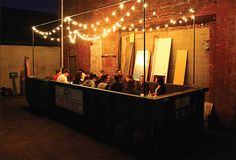A Restaurant That Creates Six Course Meals Using Waste Food From The Dumpster - DesignTAXI.com
