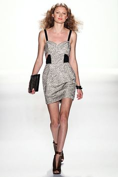 This dress needs me - Rebecca Minkoff Spring 2012