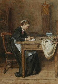 File:<b>George Goodwin Kilburne</b> Writing a letter home 1875.jpg <b>...</b> commons.wikimedia.org672 × 978Buscar por imagen File:<b>George Goodwin Kilburne</b> Writing a letter home 1875.jpg <b>...</b> george goodwin kilburne artist - Buscar con Google