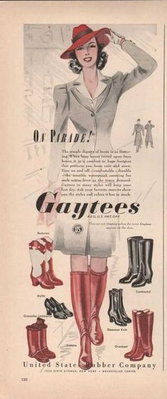 On Parade Gaytees Womens Boot Shoes (1941)