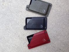 Kydex wallet- Tactical Card Holder carbon fiber, Kryptek!