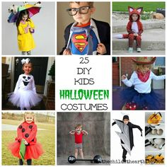 25 DIY Kid's Halloween Costumes