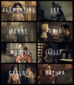 The Walking Dead Byo Telltales Games | Name Meanings