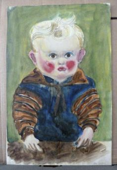 I do not find yet, who the artist was that created this colorful toddler (part of the art collection confiscated by Nazi's and horded by Gurlitt) Matisse, Monument Men, Degenerate Art, Hidden Art, Magazine Pictures, Lost Art, Amazing Art, Germany, The Incredibles