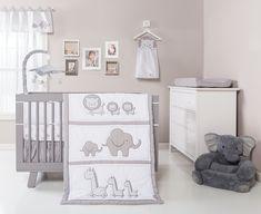 Trend Lab Safari Chevron 3 Piece Crib Bedding Set, Black/White, 6 Count