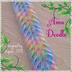 "703 Likes, 49 Comments - Adele Griffiths (@adele.griffiths) on Instagram: ""... Ama Doodle bracelet  Hook only  Designed by @queb_5898  Named because it shares elements with…"""