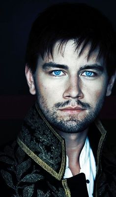 "Torrance Coombs aka Sebastian or simply ""Bash"" from 'Reign' is the newest fantasy chew-toy for this cougar. Once again, the eyes get me every time!"