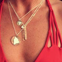 .. ♦ Acacia swimwear & Big island necklace ..