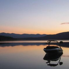Sea Ray sport boat at sun set Sport Boats, Sea, Mountains, Sunset, Lifestyle, Nature, Sports, Travel, Hs Sports