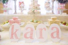Starry Shabby Chic 1st Birthday Party, Kara's Party Ideas