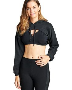 French terry knit athletic cropped hoodie http://style-your-curves.com/products/act-t3001-id-33750?utm_campaign=crowdfire&utm_content=crowdfire&utm_medium=social&utm_source=pinterest