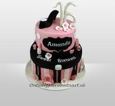 Verjaardagstaart Sweet 16