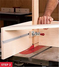 Woodworking Jigs Tenon method: Stay with the tablesaw, but add a shop-made jig