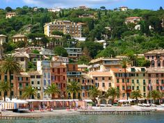 Santa Margherita Ligure, Italy. Drove from Milan to this little seaside town and then on to other places in Italy. Santa Margherita is just lovely.