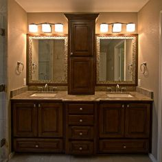double vanity with tower. Bathroom vanity tower Design Ideas  Pictures Remodel and Decor bathroom vanities with storage Double center