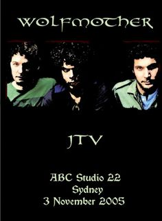 Wolfmother - 2005 - Live on JTV, Studio 22, Sydney [DVD] - gatefold